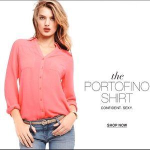EXPRESS Portofino Shirts Slim fit